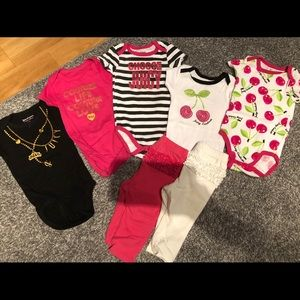Juicy Couture 3-6 month baby girl lot